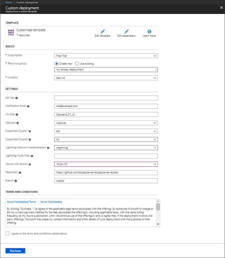 Azure Resource Config