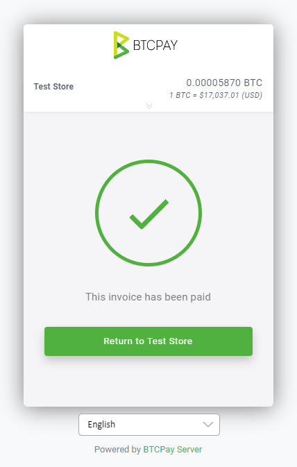 Redirect Paid Store Invoices